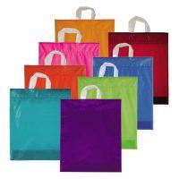 Farbige Einkaufstüten Plastik 38×45 cm