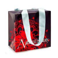 Faltbare Geschenke-Box mit Schlaufen