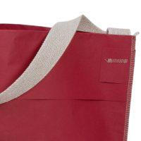 Shopper Papiertragetasche mit Textilschlaufe genäht