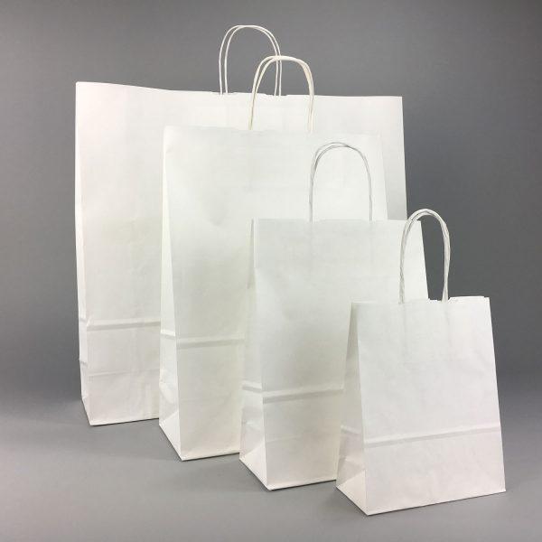 Papiertüten mit Papierkordel in verschieden Größen